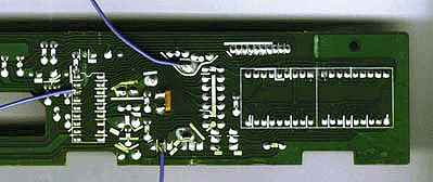 SatCure Amstrad SRD500 satellite receiver front panel
